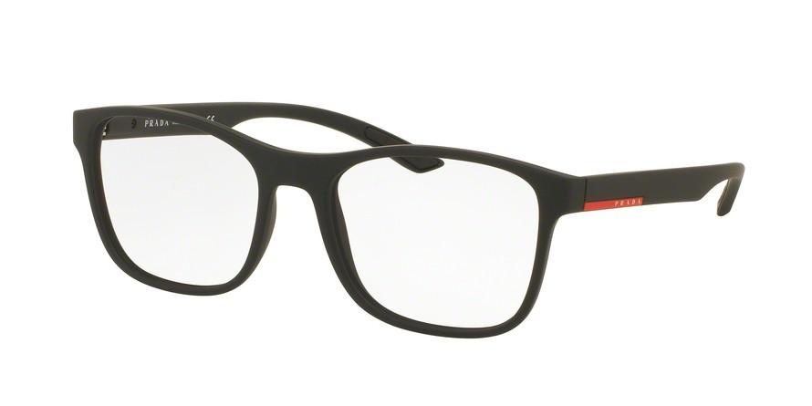 db42db8b3ae Prada 08GV Black Rubber - Prada - Eyeglasses