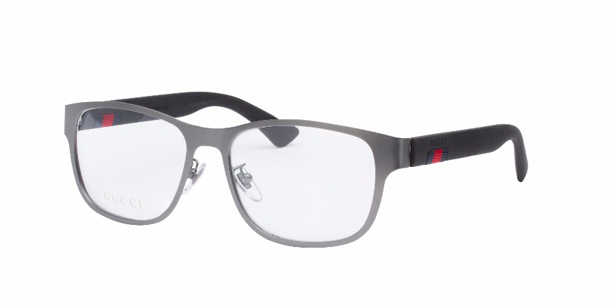 13250ed1e49 GUCCI 0013O Silver - Women s Eyeglasses - Eyeglasses