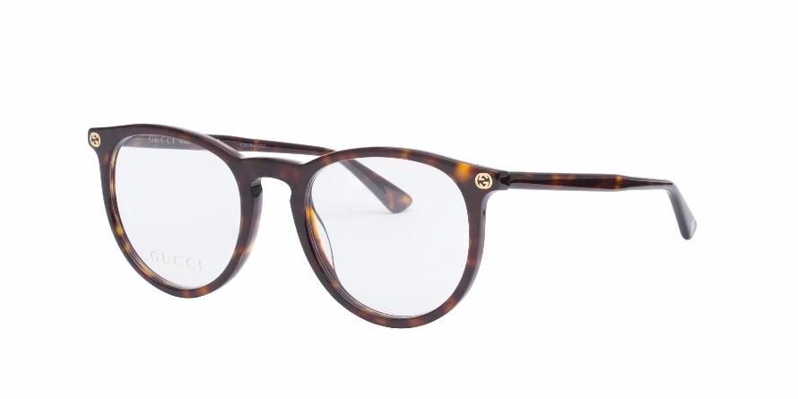 GUCCI 0027O Tortoise - Eyeglasses