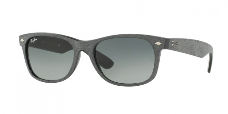 Ray-Ban 2132 Black/Top Grey Alcantara