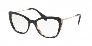 MIU MIU 02QV White Havana/Top Black