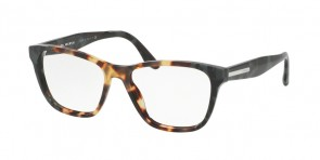 Prada 04TV Medium Havana/Spotted Green