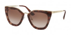 Prada 53SS Spotted Brown Pink
