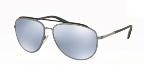 Prada 55RS Grey/Steel Rubber