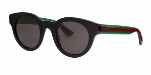 GUCCI 0002S Black Green Grey