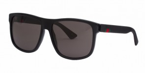 GUCCI 0010S Black Grey