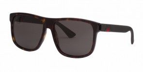 GUCCI 0010S Havana Brown Grey