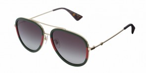 Gucci 62 Gold/Green/Red