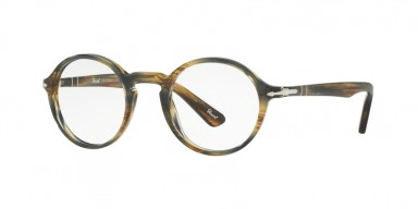 PERSOL 3141V Striped Brown Grey
