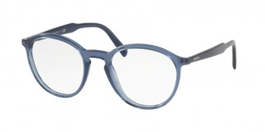 Prada 13TV Transparent Blue