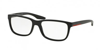 Prada 02GV Gloss Black Gradient Matte