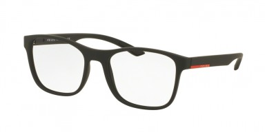 Prada 08GV Black Rubber