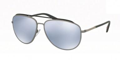 Prada 55RS Grey/Steel Rubber