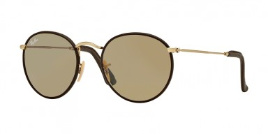 Ray-Ban 3475 Matte Arista/Brown Leather