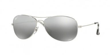 Ray-Ban 3562 Shiny Silver