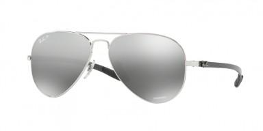 Ray-Ban 8317 Shiny Silver