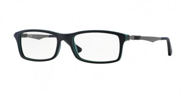 Ray-Ban 7017 Top Black On Green