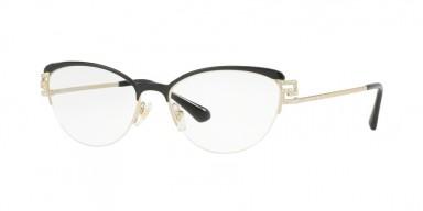 Versace 1239B Black/Pale Gold