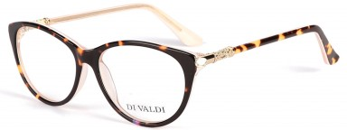 DIVALDI 8041 Demi Dark Brown & Pink & Gold
