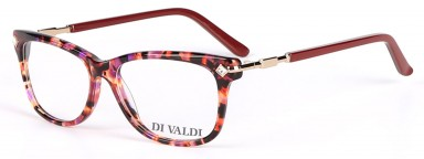 DIVALDI 8046 Gold & Red