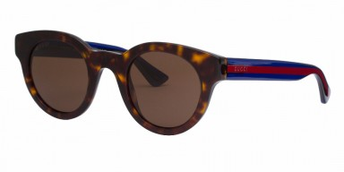 GUCCI 0002S Havana Blue Brown
