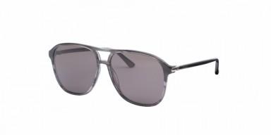 GUCCI 0016S Grey Transparent