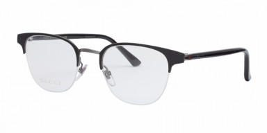 GUCCI 0020O Black Transparent