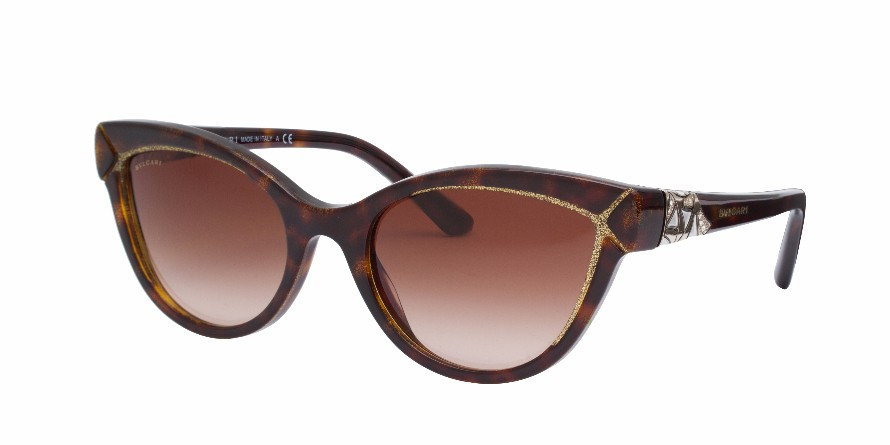 BVLGARI 8156B Brown/Gold - BVLGARI - Brands