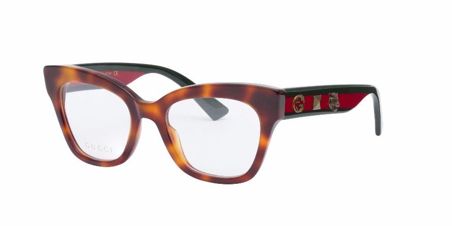 Gucci Tortoise Eyeglass Frames : GUCCI 0060O Tortoise - Eyeglasses